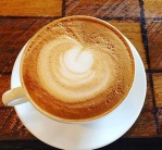 Latte at Barbette Cafe, Mpls