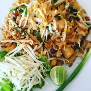 Chicken Pad Thai at BAAN GLOM GIG Restaurant