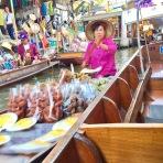 River Vendors on the Floating Market
