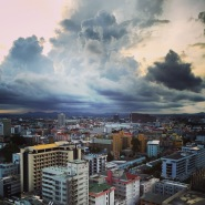 Morning sky in Pattaya