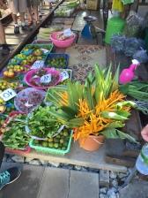 Flowers at the Maeklong Railway Market