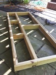 Frame for the top of the bar